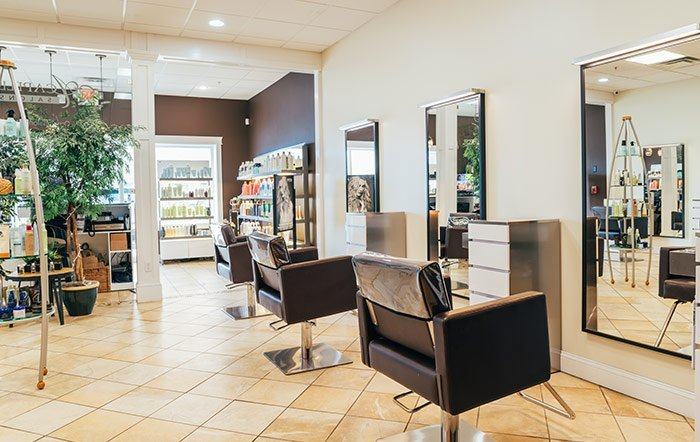 Yarmouth Hair Salon Styling Stations | Acapello Salons